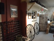 """Pair Of Carriage Wheels! 42"""" Round! Rustic Americana! in Beaufort, South Carolina"""