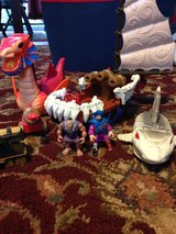 Fisher Price Imaginext pirate ship and extras in Ramstein, Germany