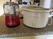 Hamilton Beach Crockpot and Kitchen Aid Food Processor in Fort Carson, Colorado