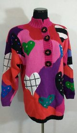 Hearts Sweater XL in Houston, Texas