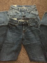 2 Mens Abercrombie Jeans in Naperville, Illinois