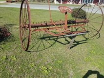 Antique Hay Rake in Cochran, Georgia