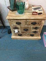 Night stand 17 deep. 26 wide 24 tall 4small draws. 1 large in Cleveland, Texas