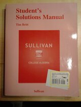 Student's Solutions Manual - College Algebra in Davis-Monthan AFB, Arizona