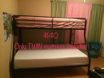 Twin over Full Bunk Bed in Fort Rucker, Alabama