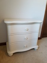 Antique white small dresser in Glendale Heights, Illinois