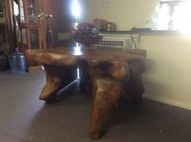 Solid wood made from a tree root  coffee table in 29 Palms, California