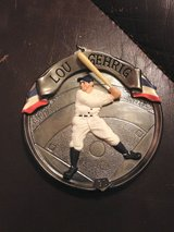 Lou Gehrig plastic ornament in Joliet, Illinois