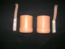 Dice Cups (leather) in Travis AFB, California