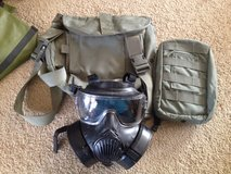 CIF ISSUE M50 gas mask small in Oceanside, California