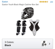 Easton kids catchers gear-brand new in Warner Robins, Georgia