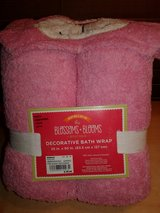 Pink Bunny Bath Towel Wrap in Aurora, Illinois