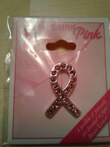 Breast Cancer Awareness Fashion Pin in Plainfield, Illinois