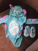 Monster Inc Costume size 9-12 months in Schofield Barracks, Hawaii