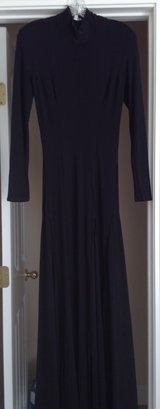 Formal black maxi dress in Cherry Point, North Carolina