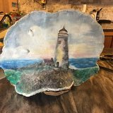 Light house - hand painted in Clarksville, Tennessee