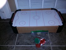 Table hockey game in Vacaville, California
