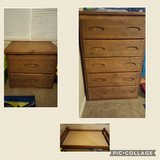 Twin Bed Frame, Nightstand & Dresser in Fort Rucker, Alabama