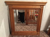 Solid Oak Mirror in Sandwich, Illinois