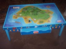Learning Curve Thomas and Friends Wooden Railway Grow-With-Me Play Table w/train $300+ New in Alamogordo, New Mexico