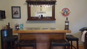 Bar and Guinness Mirror in Kaneohe Bay, Hawaii