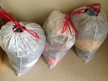Three Bags of Clothing sold as a lot in Okinawa, Japan