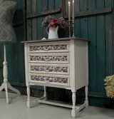 Adorable Shabby Chest Of Drawers Dresser Cute Sideboard Beautiful Colors & Decor! in Ramstein, Germany
