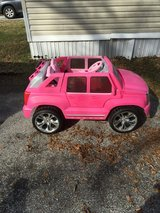 Pink Cadillac Escalade by Fisher-Price in Conroe, Texas