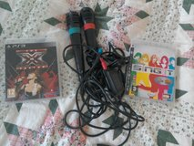 PS3 sing it games and 2 mics in Lakenheath, UK