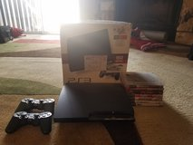 PS3 Bundle w/7 Games & 2 Controllers in Fort Carson, Colorado