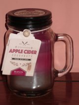 """new 5"""" candle,apple cider doughnut in St. Charles, Illinois"""