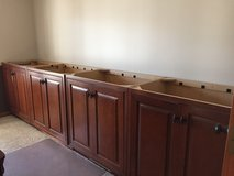 4 base cabinets and hutch in Bartlett, Illinois