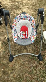 Baby boy swing and bath in Leesville, Louisiana
