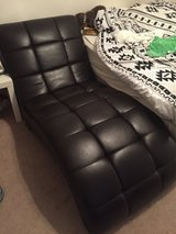 Leather lounge chair in Nellis AFB, Nevada