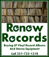 We Buy Sell LP Vinyl Record Albums Stereo Equipment and Rock Items in Aurora, Illinois