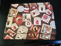 Kitchen coffee place mats in Lake Elsinore, California