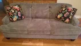 Grey couch in Dothan, Alabama