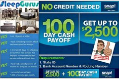 ONLINE APPROVAL!!!!!!!!! $39 DOWN!!!!!! SLEEPGURUSWORLD.COM!!!!! in Fort Irwin, California