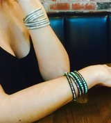 Turquoise Leather Wrap Bracelet in San Diego, California