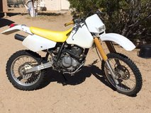 Suzuki dirt bike in Yucca Valley, California