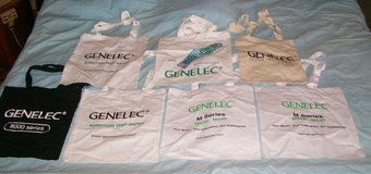 shopping tote bags cloth washable reusable music gear Genelec Speaker in Yucca Valley, California