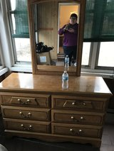 Dresser with mirror in Bartlett, Illinois