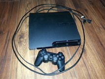 PS3 Slim w/Controller and cables - $75 in Fairfield, California