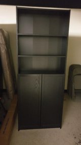 Billy Bookcase with doors from IKEA in Westmont, Illinois