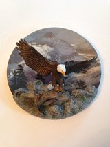 Wings of Majesty 3D Collector Plate in Naperville, Illinois