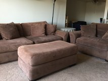 Couch, Sofa Chair, and Ottoman in Vista, California