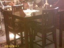 Bar Height table with 4 chairs in San Diego, California