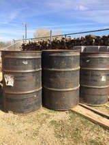 55gal metal drums in 29 Palms, California