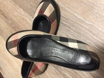 Authentic Burberry flat shores for little girls in Pearl Harbor, Hawaii