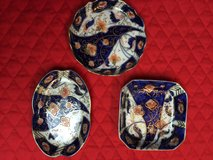 Set of 3 Japanese Trinket Holders/Dishes in St. Charles, Illinois